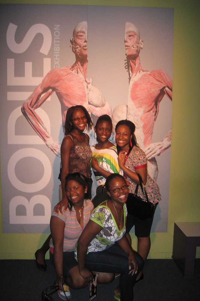 BOCES students attending Bodies Exhibits